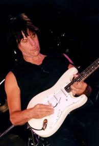 Jeff Beck - die Nachtigall mit dem Marshall Turm
