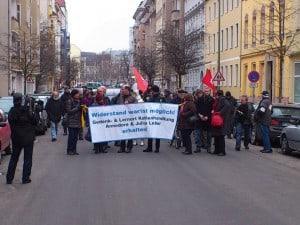 """Demo """"Gedenken Leber"""""""